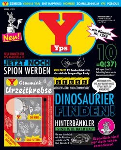 YPS startete im Oktober 2012 mit einer Druckauflage von 120.000 Exemplaren